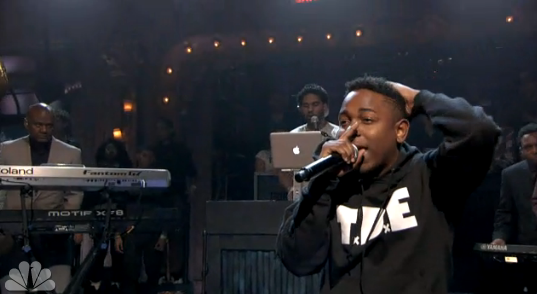 Kendrick Lamar Performs Swimming Pools Drank On Late Night With Jimmy Fallon Video