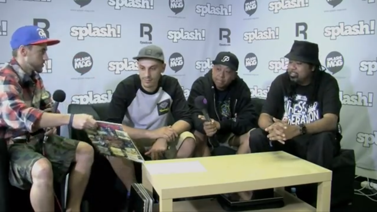 Interviewing Dilated Peoples