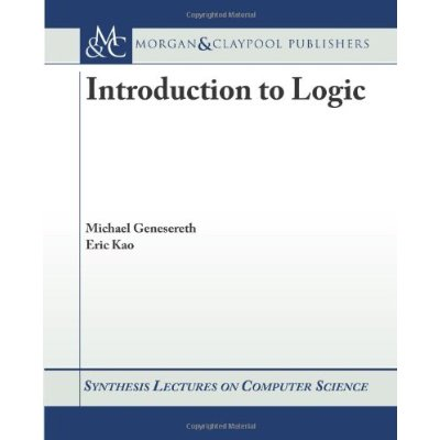 Intro to Logic by Prof. Michael Genesereth