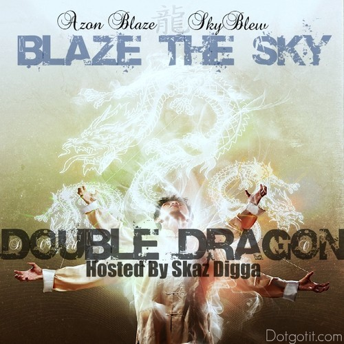 Blaze the Sky mixtape cover