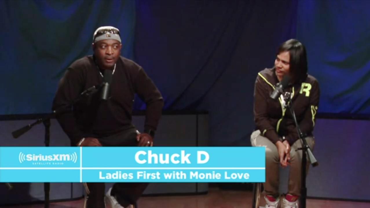 Chuck D x Monie Love