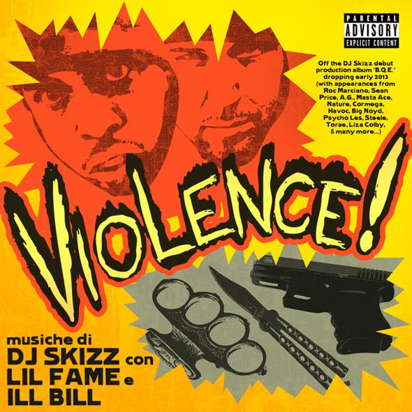DJ Skizz - Violence art