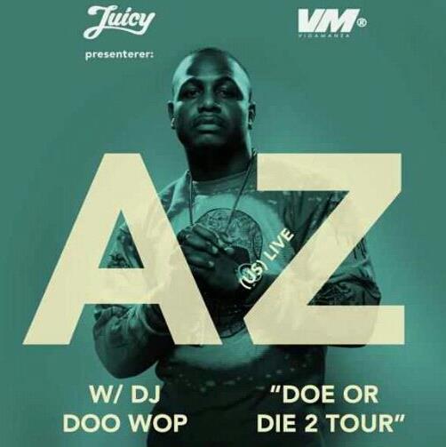 Doe or Die II tour poster
