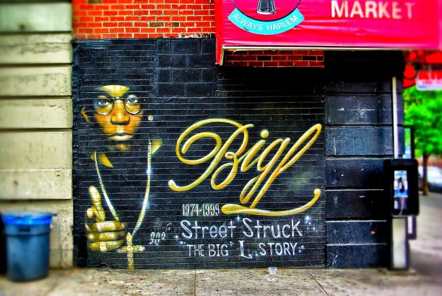 Walk In New York Harlem The Big L Story