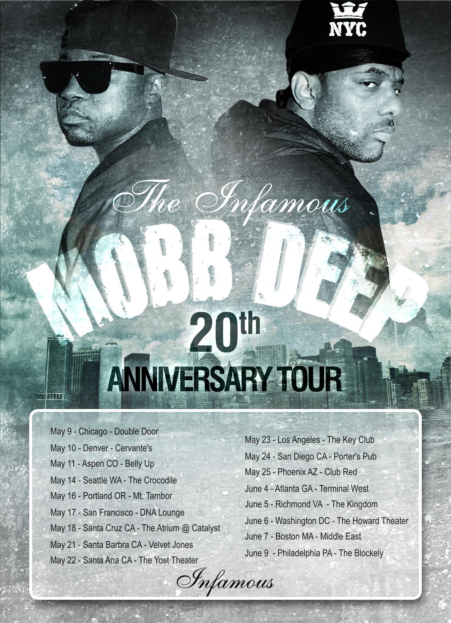 mobbdeep20thTour