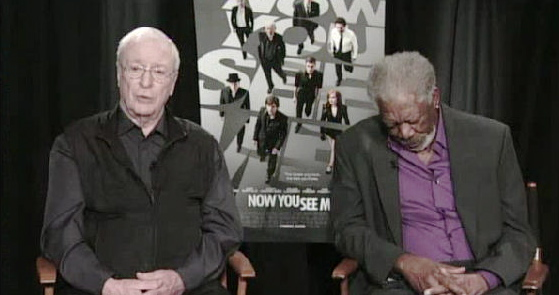 Now You See - Caine with Freeman nodding