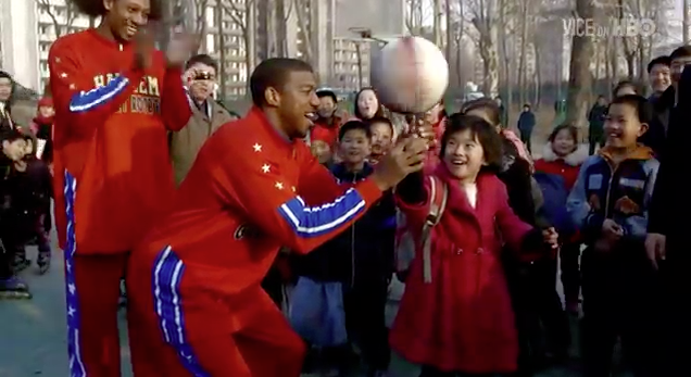 Harlem Globetrotters - North Korea - JAYFORCE.COM