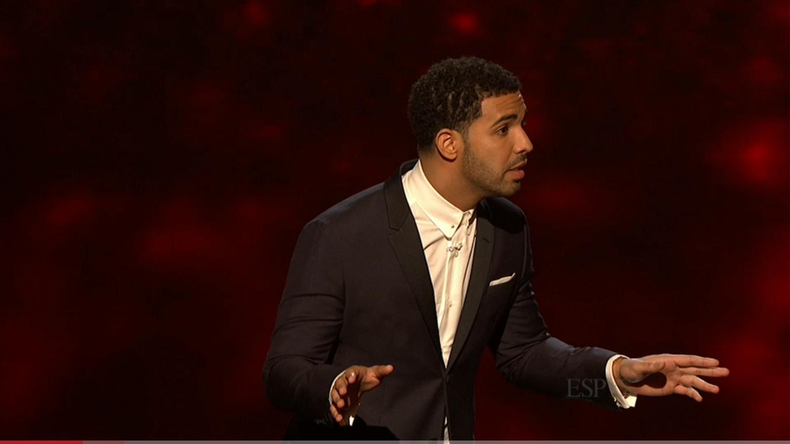 Drake at ESPYs hosting