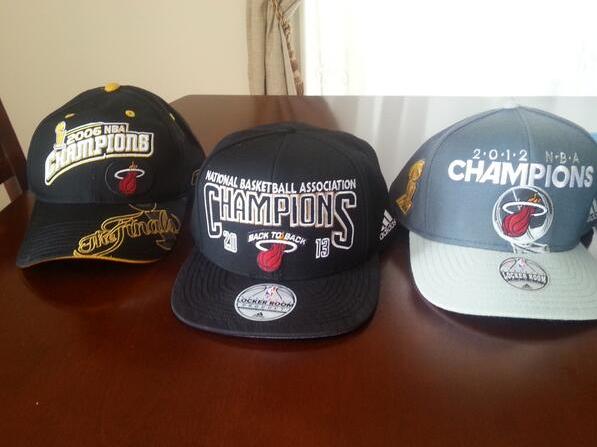 Miami Heat 2006, 2012, 2013 Champs