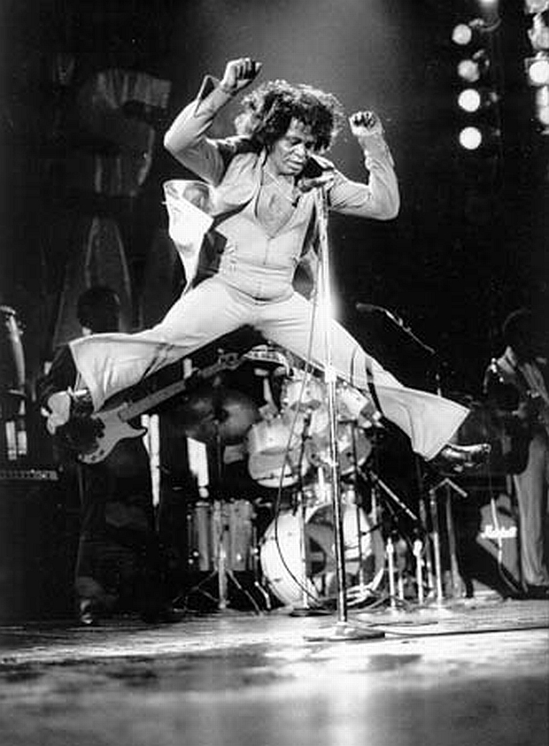 James Brown gets UP