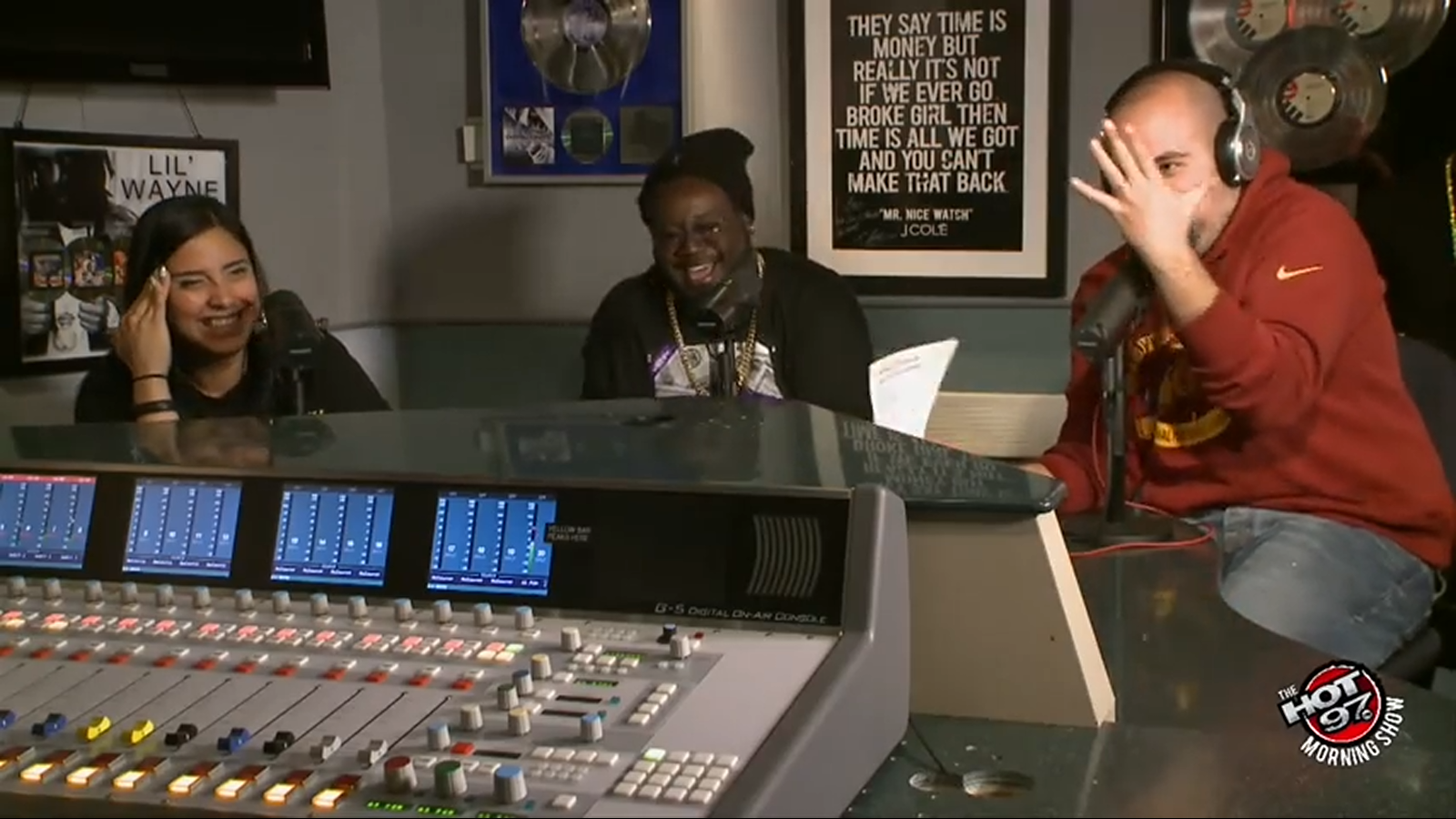 T-Pain at Hot 97