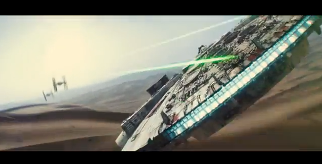 Force Awakens - Millenium Falcon