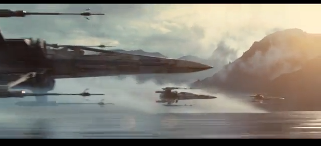 The Force Awakens - Xwing fighter2