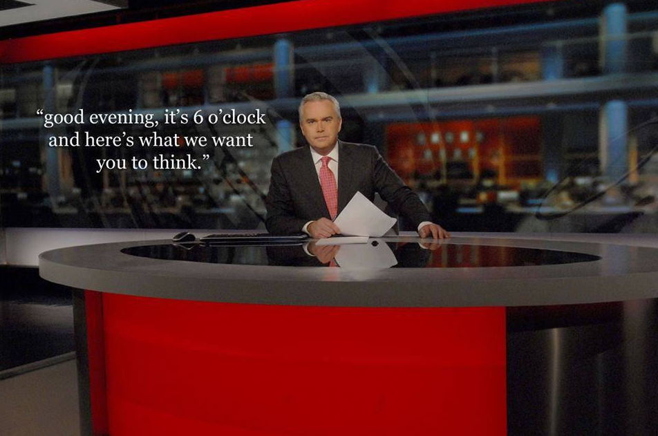 we want you to think news