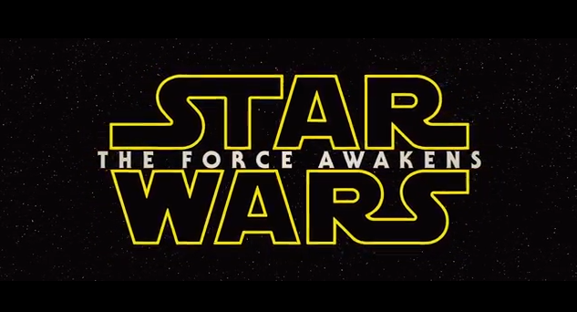 STAR WARS - THE FORCE AWAKENS LOGO