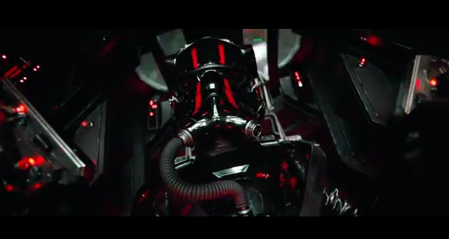 STAR WARS - VADER IN TIE FIGHTER? - JAYFORCE.COM