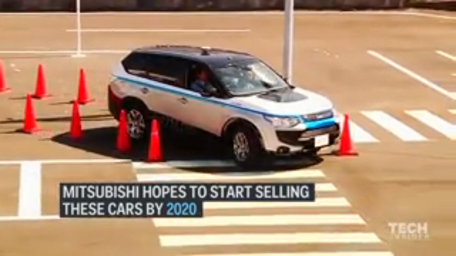 technology mitsubishi s self driving car should go on sale in 2020 video jayforce. Black Bedroom Furniture Sets. Home Design Ideas