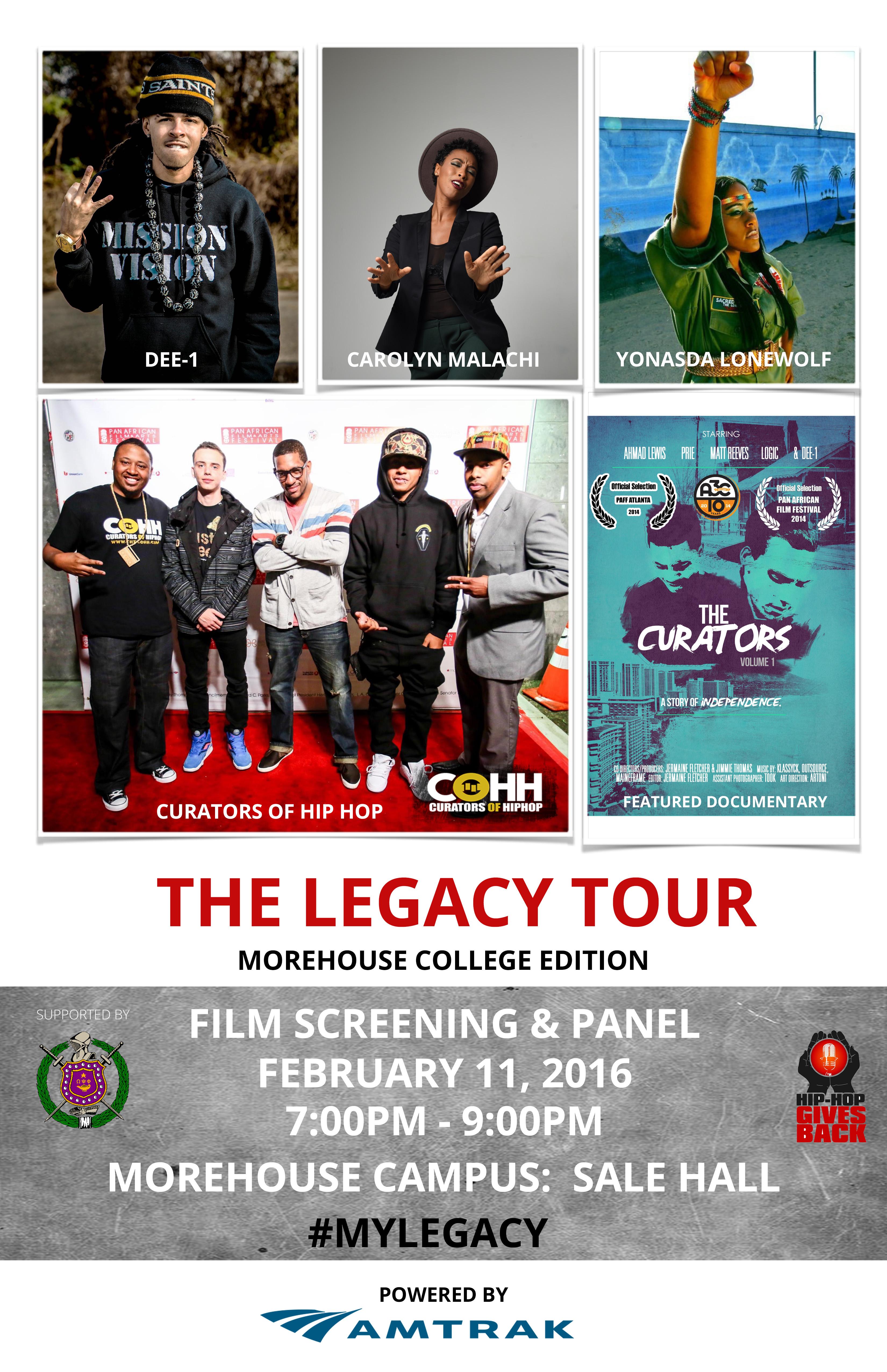Legacy Tour_Baltimore Poster