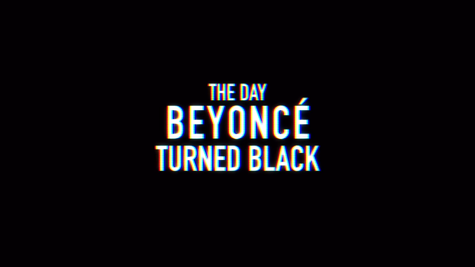 Beyonce Eyes Turn Black Comedy: The Day...