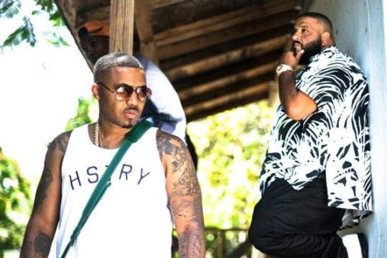 Nas-DJ-Khaled-Nas-Album-Done-Video-Shoot
