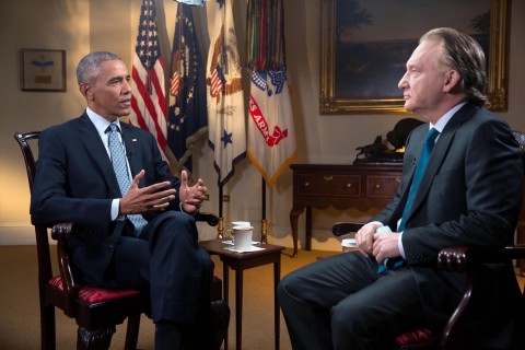 Bill Maher and President Obama (3)